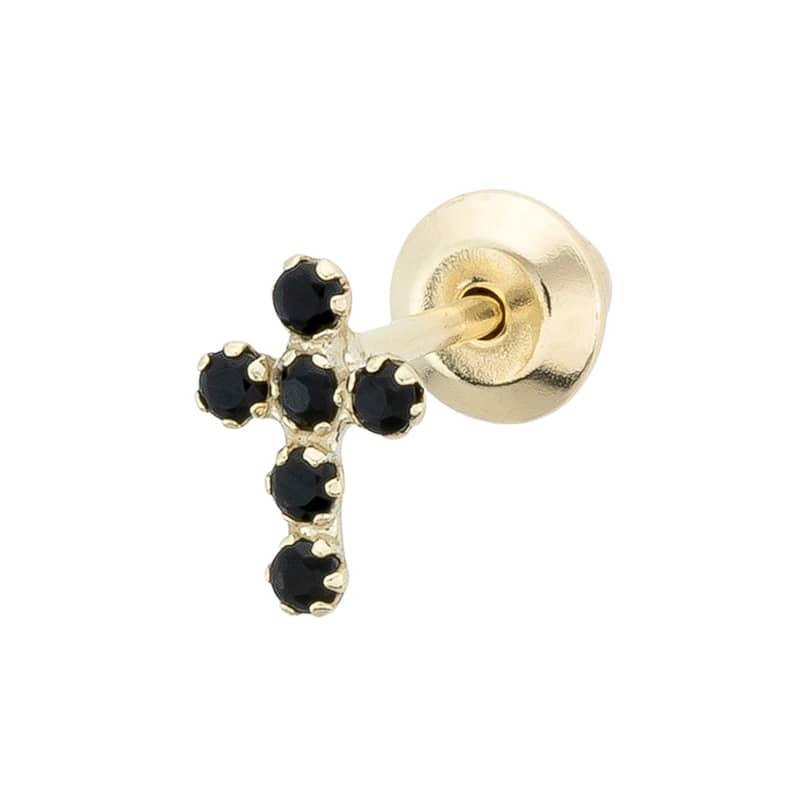 Piercing-Cruz-Circonitas-Negras-B.You-Jewelry