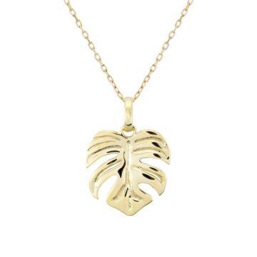 Colgante-oro-hoja-de-adan-byou-jewelry