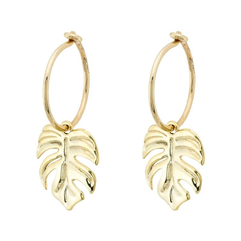 Pendientes-oro-hoja-adan-byou-jewelry