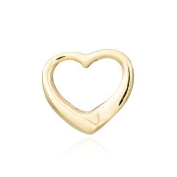 Colgante-Corazón-Hueco-Oro-9k-Byou-Jewelry